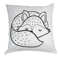 Подушка Sleeping fox