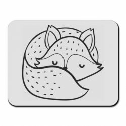 Килимок для миші Sleeping fox