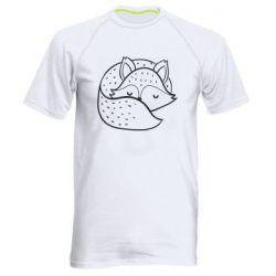Чоловіча спортивна футболка Sleeping fox