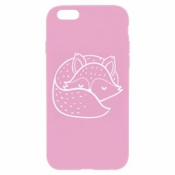 Чохол для iPhone 6 Plus/6S Plus Sleeping fox