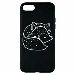 Чохол для iPhone 7 Sleeping fox