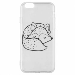 Чохол для iPhone 6/6S Sleeping fox