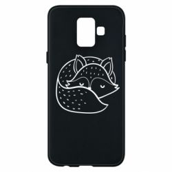 Чохол для Samsung A6 2018 Sleeping fox