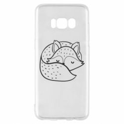 Чохол для Samsung S8 Sleeping fox