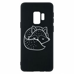 Чохол для Samsung S9 Sleeping fox