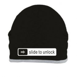 Шапка Slide to unlock