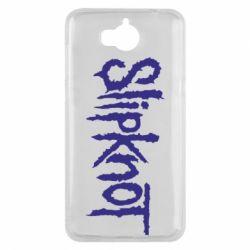 Чехол для Huawei Y5 2017 Slipknot - FatLine