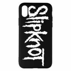 Чехол для iPhone X/Xs Slipknot