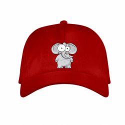 Детская кепка Слон глазастый