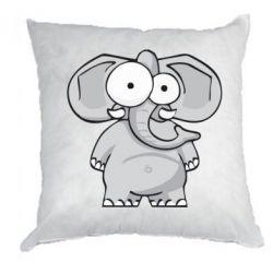 Подушка Слон глазастый
