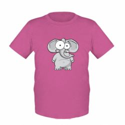Детская футболка Слон глазастый