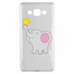 Чохол для Samsung A5 2015 Слон із зірочкою