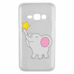 Чохол для Samsung J1 2016 Слон із зірочкою