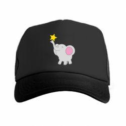 Кепка-тракер Слон із зірочкою