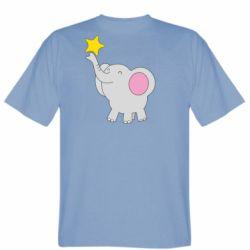 Чоловіча футболка Слон із зірочкою