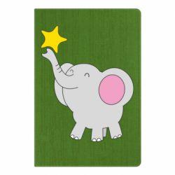 Блокнот А5 Слон із зірочкою