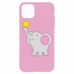 Чохол для iPhone 11 Pro Слон із зірочкою