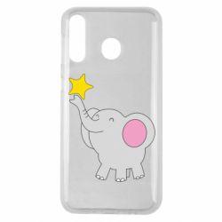 Чохол для Samsung M30 Слон із зірочкою