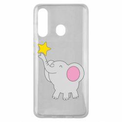 Чохол для Samsung M40 Слон із зірочкою
