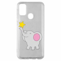 Чохол для Samsung M30s Слон із зірочкою
