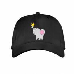 Дитяча кепка Слон із зірочкою