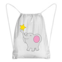 Рюкзак-мішок Слон із зірочкою