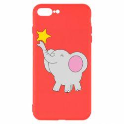 Чохол для iPhone 7 Plus Слон із зірочкою