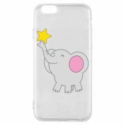 Чохол для iPhone 6/6S Слон із зірочкою