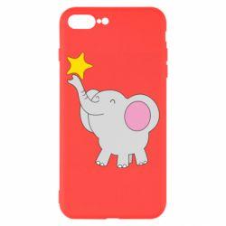 Чохол для iPhone 8 Plus Слон із зірочкою