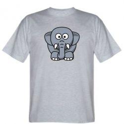 Мужская футболка Слоник - FatLine