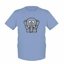 Детская футболка Слоник - FatLine