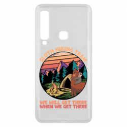 Чехол для Samsung A9 2018 Sloth Hiking Team We Will Get There When We Get There