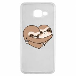 Чохол для Samsung A3 2016 Sloth lovers