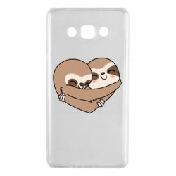 Чохол для Samsung A7 2015 Sloth lovers