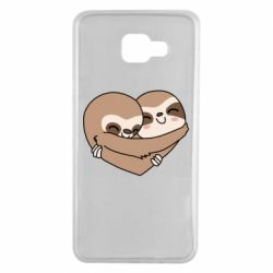 Чохол для Samsung A7 2016 Sloth lovers