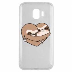 Чохол для Samsung J2 2018 Sloth lovers