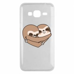 Чохол для Samsung J3 2016 Sloth lovers
