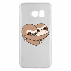 Чохол для Samsung S6 EDGE Sloth lovers