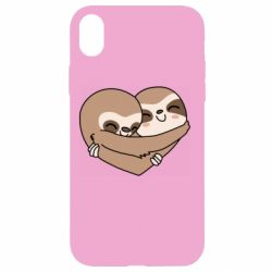 Чохол для iPhone XR Sloth lovers