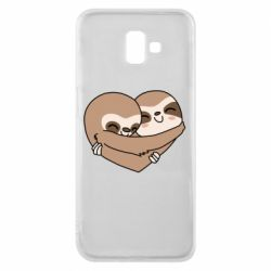 Чохол для Samsung J6 Plus 2018 Sloth lovers