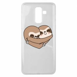 Чохол для Samsung J8 2018 Sloth lovers