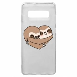 Чохол для Samsung S10+ Sloth lovers