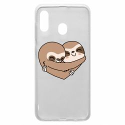 Чохол для Samsung A30 Sloth lovers