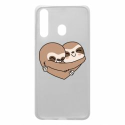 Чохол для Samsung A60 Sloth lovers