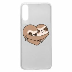 Чохол для Samsung A70 Sloth lovers