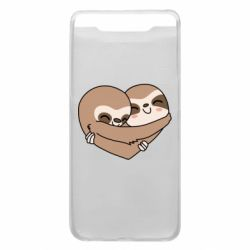 Чохол для Samsung A80 Sloth lovers