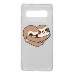 Чохол для Samsung S10 Sloth lovers