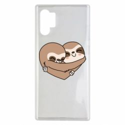 Чохол для Samsung Note 10 Plus Sloth lovers