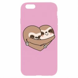 Чохол для iPhone 6/6S Sloth lovers