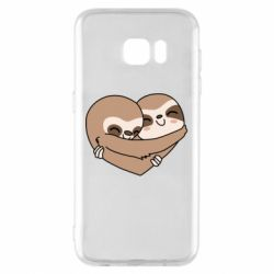 Чохол для Samsung S7 EDGE Sloth lovers